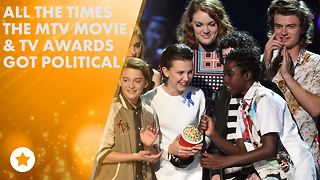 5 Times the MTV Movie & TV Awards got serious - Video