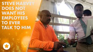 Steve Harvey allegedly sends crazy rude memo to staff - Video