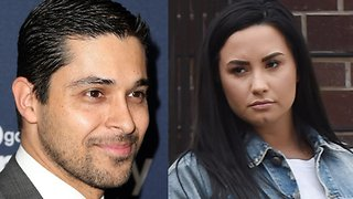 Demi Lovato Still Being Supported By Wilmer Valderrama - Video