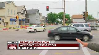 Police respond to two-vehicle rollover crash on Milwaukee's south side - Video