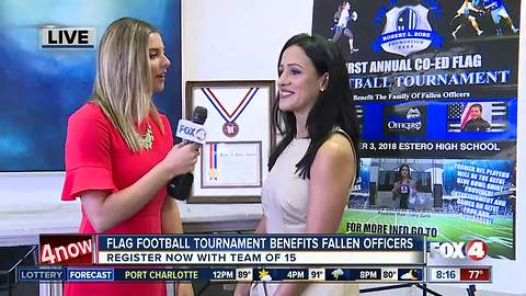 Flag Football Tournament to benefit families of fallen officers in Florida