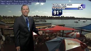 Scott Dorval's On Your Side Forecast: Tuesday, August 1, 2017 - Video