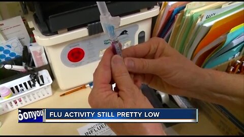 Flu activity still low in late October