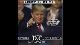 TAKE AMERICA BACK! BE THERE! January 6, 2021