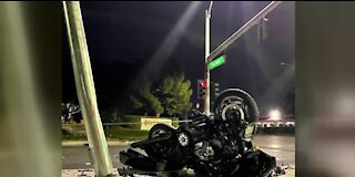 Motorcyclist dead after Las Vegas crash
