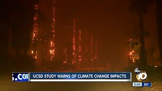 UC San Diego researchers warn of climate change impact - Video