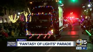 Fantasy of Lights Parade kicks off in the Valley - Video