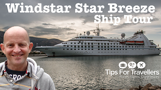 Windstar Cruises Star Breeze Cruise Ship Tour - Video