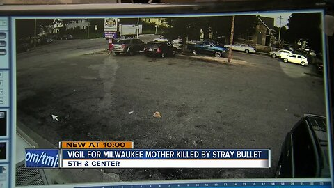 Community holds vigil for Milwaukee mom killed by stray bullet