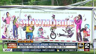 Baltimore hosts AFRAM Festival this weekend - Video