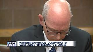 MSU health physicist charged with bestiality appears in court