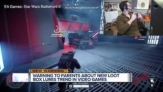 Warning to parents about new loot box lures in video games - Video