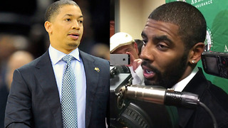 Did Kyrie Irving Just Call Tyronn Lue STUPID? - Video