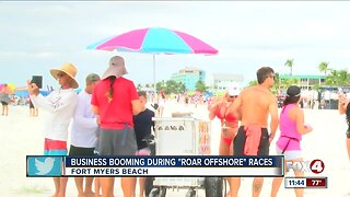 Roar Offshore Boat Races impact on Fort Myers Beach economy
