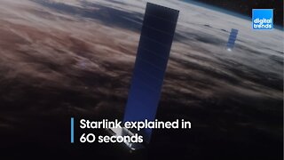 Starlink explained in 60 seconds