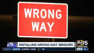 Installing wrong-way driver sensors in the Valley - Video