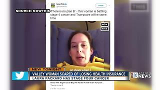 Las Vegas woman makes video about losing health insurance