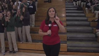 Friday Football Frenzy: Cathedral Central morning pep rally before game against Center Grove - Video