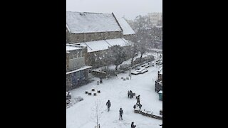 Snow in London New 24/1 2021