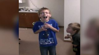Kid Scares Siblings With A Clever Prank - Video