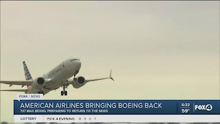 Boeing takes back to air
