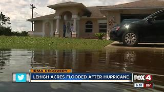 Lehigh acres flooded after hurrican - Video