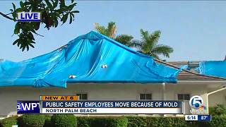 North Palm Beach Public Safety building dealing with mold issues