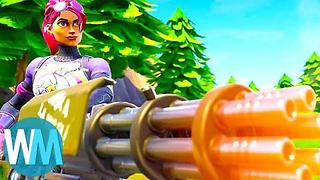 Top 10 Coolest Items in Fortnite! - Video