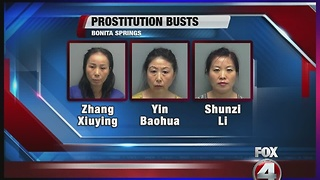 SWFL Massage Therapists Keep Licenses After Being Charged With Prostitution - Video