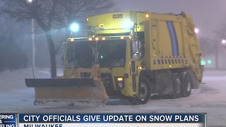 Milwaukee Officials Brace for Another Snowstorm - Video