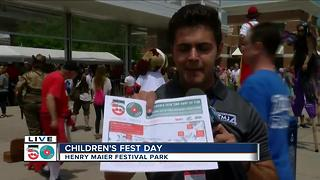 Day 7 of Summerfest kicks off with Children's Fest Day - Video