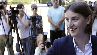 Serbia Elects Their First Female & Openly Gay Leader - Video
