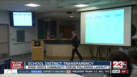 KHSD hosts forum following discipline-related lawsuit