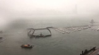 Timelapse Captures Tropical Storm Pakhar Rolling Into Hong Kong - Video