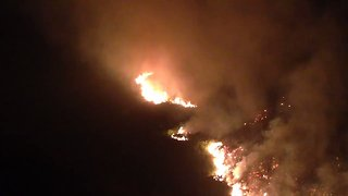 Homes Evacuated as Stalybridge Moorland Fire Spreads - Video