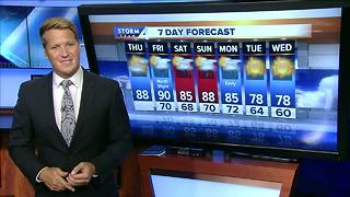 Heat, storms possibly on their way - Video