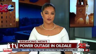 Power outage in Oildale impacting 2,000 customers