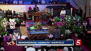 Family, Friends Remember Harmony Warfield - Video
