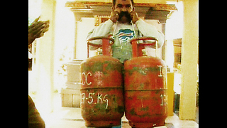 Gas Cylinder Moustache Pull