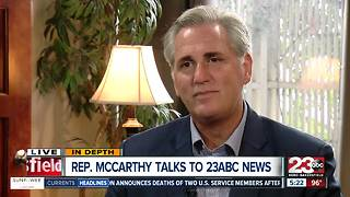 House Majority Leader Kevin McCarthy talks immigration, healthcare, forever GI Bill, viral photo - Video