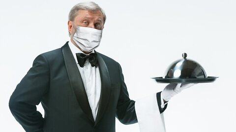 Masked, Gloved Waiters To Serve First Responders At White House Party