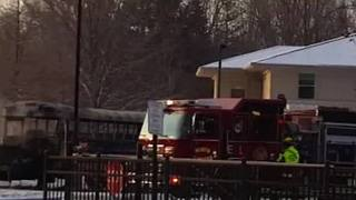 North Olmsted Bus Fire 2 - Video
