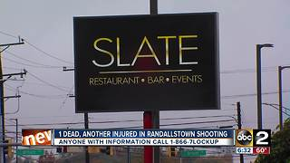 One man dead, another shot during fight at Slate Lounge in Randallstown - Video