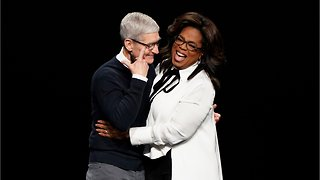 Oprah Teaming With Apple