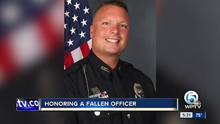 Hundreds remember Port St. Lucie police officer