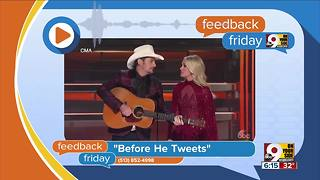 Feedback Friday: One year after Trump election - Video