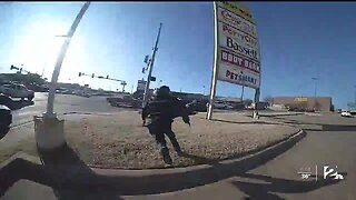 Body Cam Video Shows Wild Police Chase