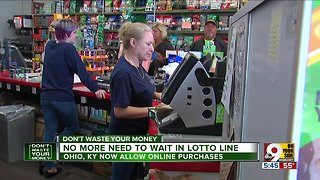 No more need to wait in lotto line - Video