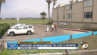 Imperial Beach homeowners oppose public bathroom proposal