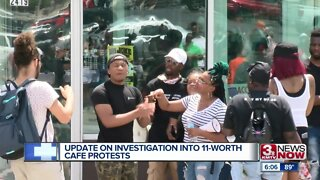 Update on investigation into 11-Worth Cafe protests
